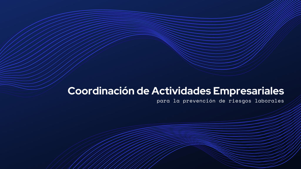 Coordinación de actividades empresariales